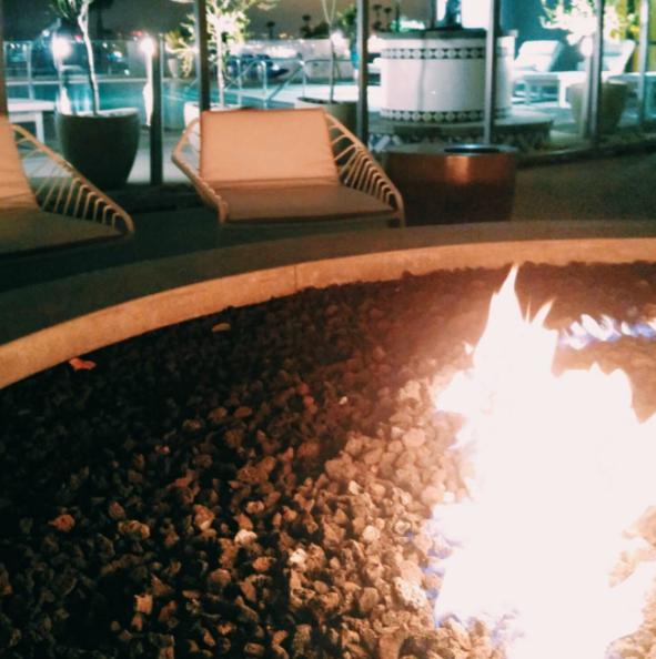 #667: Hi-Rise Patio Bonfire.