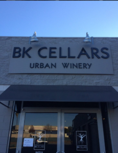 BK cellars outside