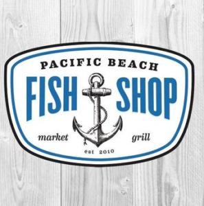 PB fish shop logo