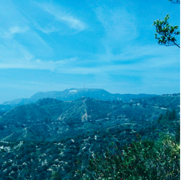 #708: See the Iconic Hollywood Sign.