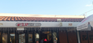 slapfish taco outside