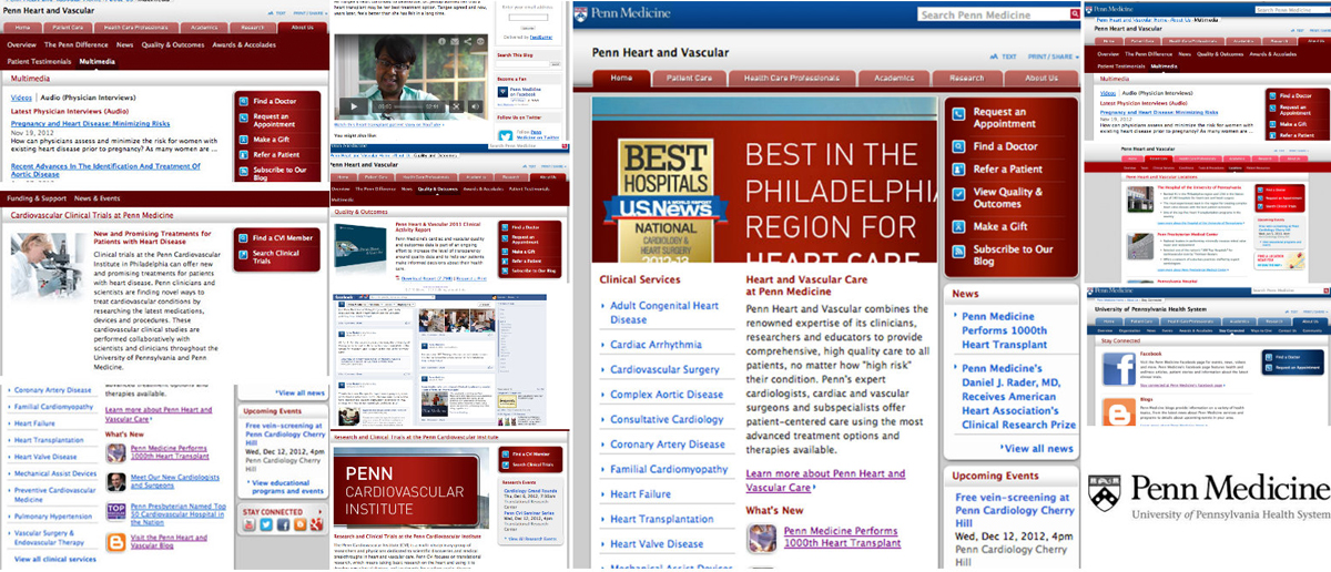 PENN MEDICINE –––––––– Changing the way patients view Penn